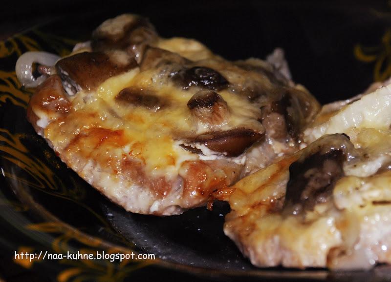 Свинина грибами рецепт с фото пошагово
