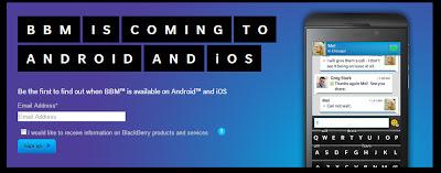 Blackberry Messenger Akan Hadir Di Android Dan iOS