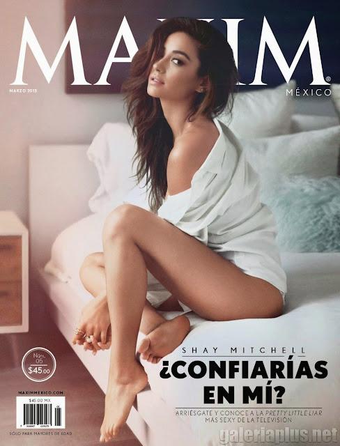 FOTOS: Shay Mitchell Revista Maxim México Marzo 2015