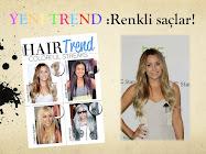 Trend: Renkli Saçlar!