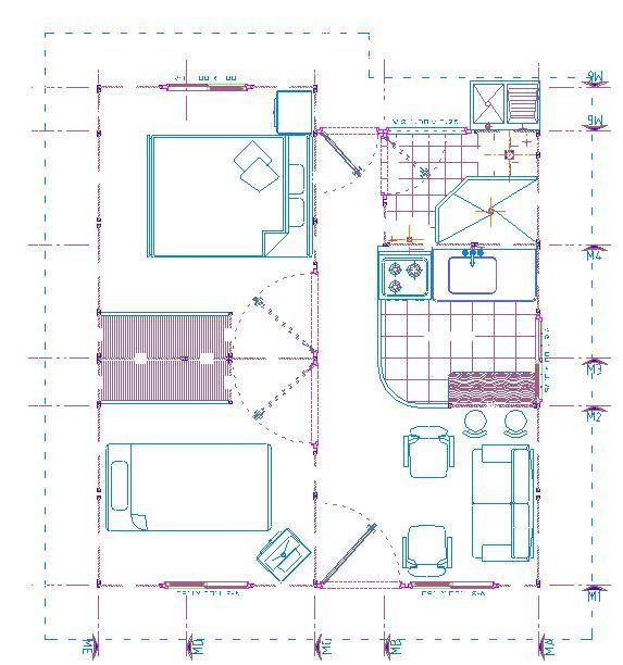 Planos De Casas Modelos Y Dise Os De Casas Plano De Una
