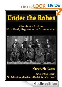 Free eBook Feature: Under the Robes by Marek McKenna