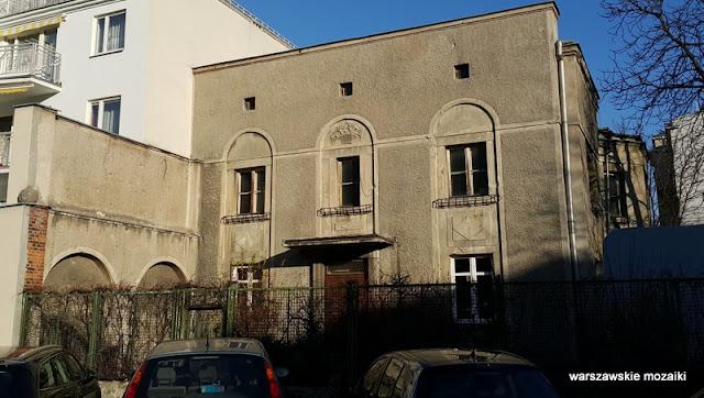 Warszawa Warsaw Mokotów ulica Narbutta willa Pawła Mackiewicza