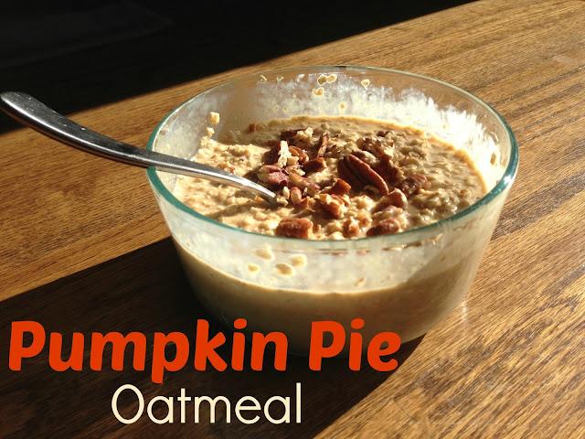 Framing Cali: Pumpkin Pie Oatmeal