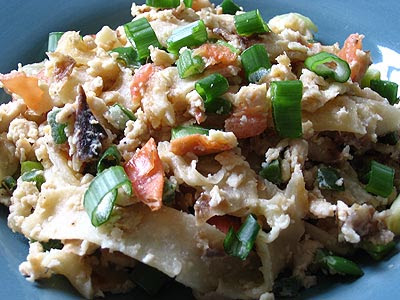 Nigella's Mexican Scrambled Eggs