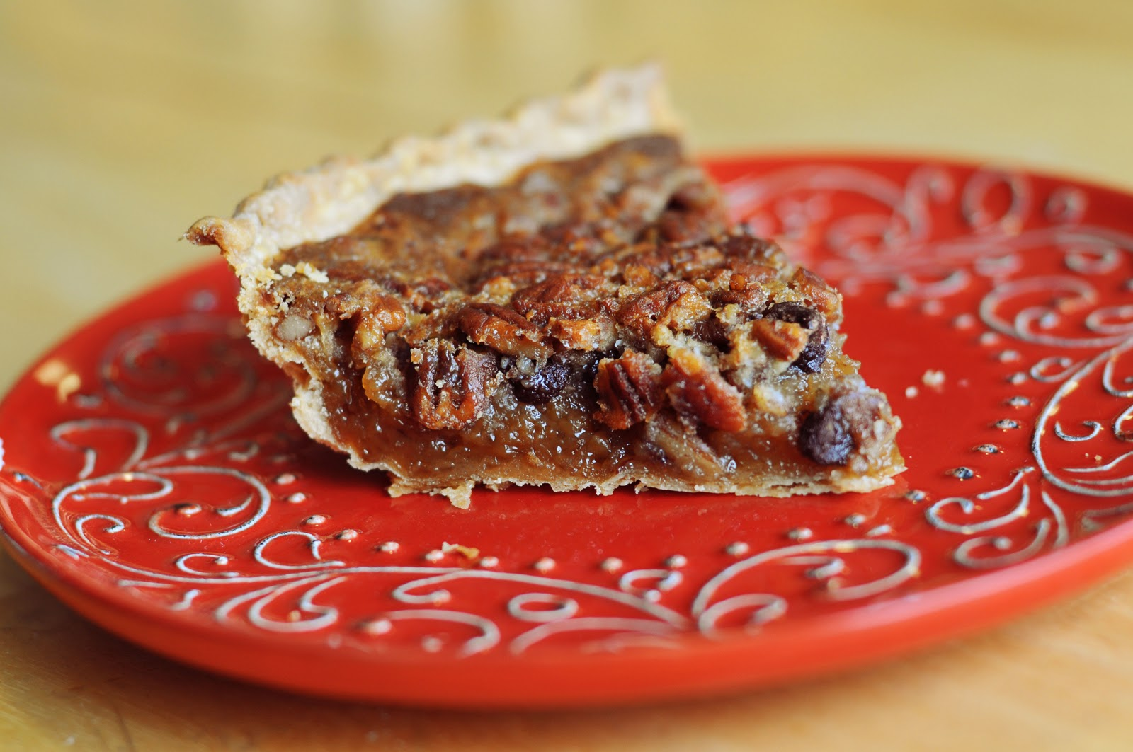 pecan pie is my husband s favorite pie so of course i had to make one