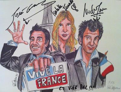 Vive la France, Michael Youn, José Garcia, Isabelle Furano.