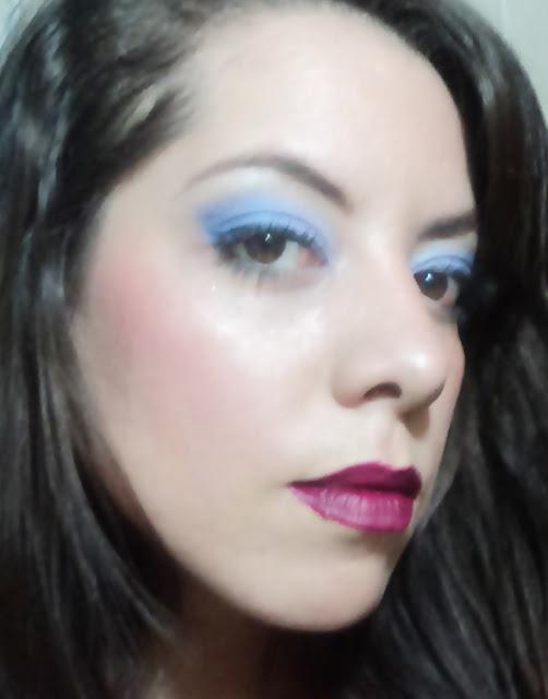 reto bee, blogueras bee, maquillaje de 1990