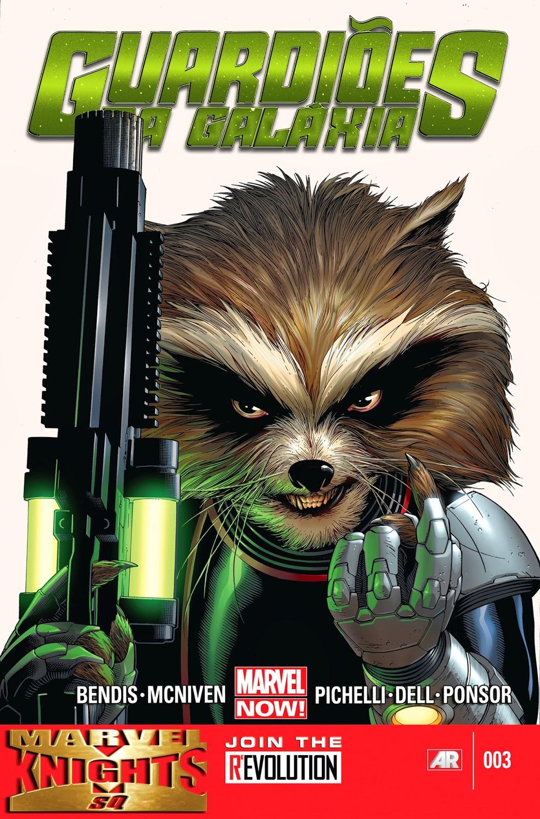 Nova Marvel! Guardiões da Galáxia #3