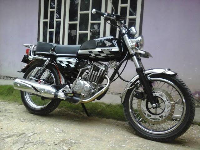 Modifikasi Honda Cb Mas Denny CeBe
