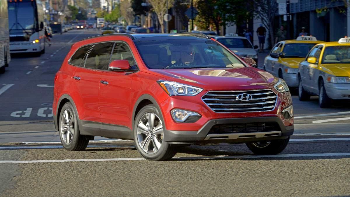 2014 Hyundai Santa Fe Limited review notes