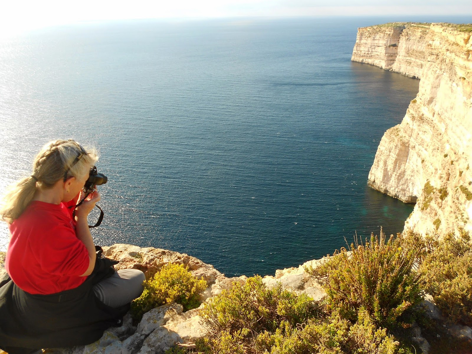 Gozo Coastal Walk. Photograph by Janie Robinson, Travel Writer