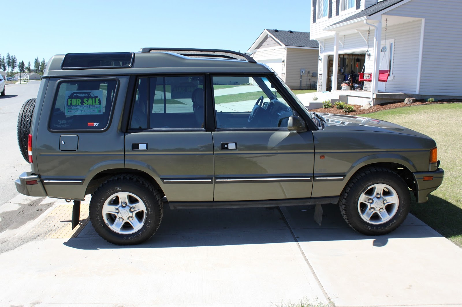 1998 Landrover Discovery Lse 50th Anniversary Edition 40l V8 4x4 Land Rover 4wd