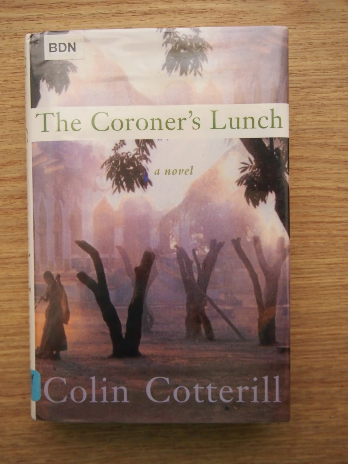 An image of The Coroner's Lunch by Colin Cotterill