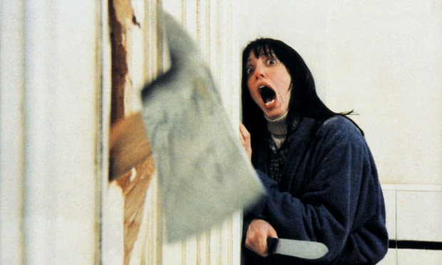 Scene from the shining.