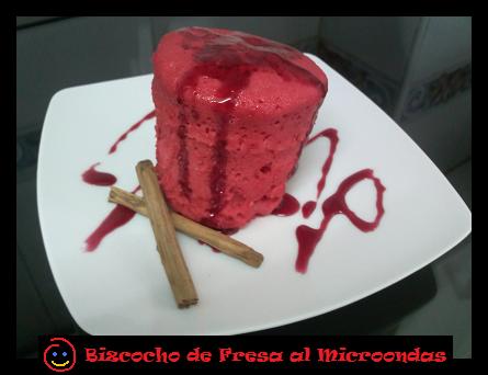 Carlitos va a la cocina bizcocho rojo al microondas for Cocina al microondas