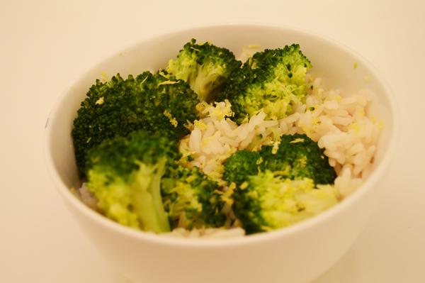 zesty broccoli rice