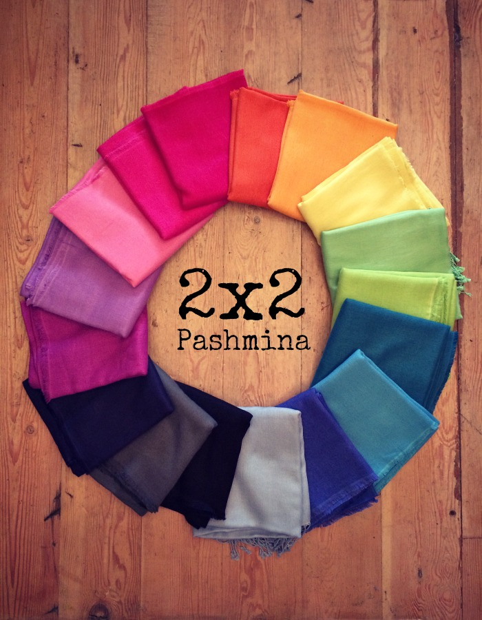2x2 Pashminas