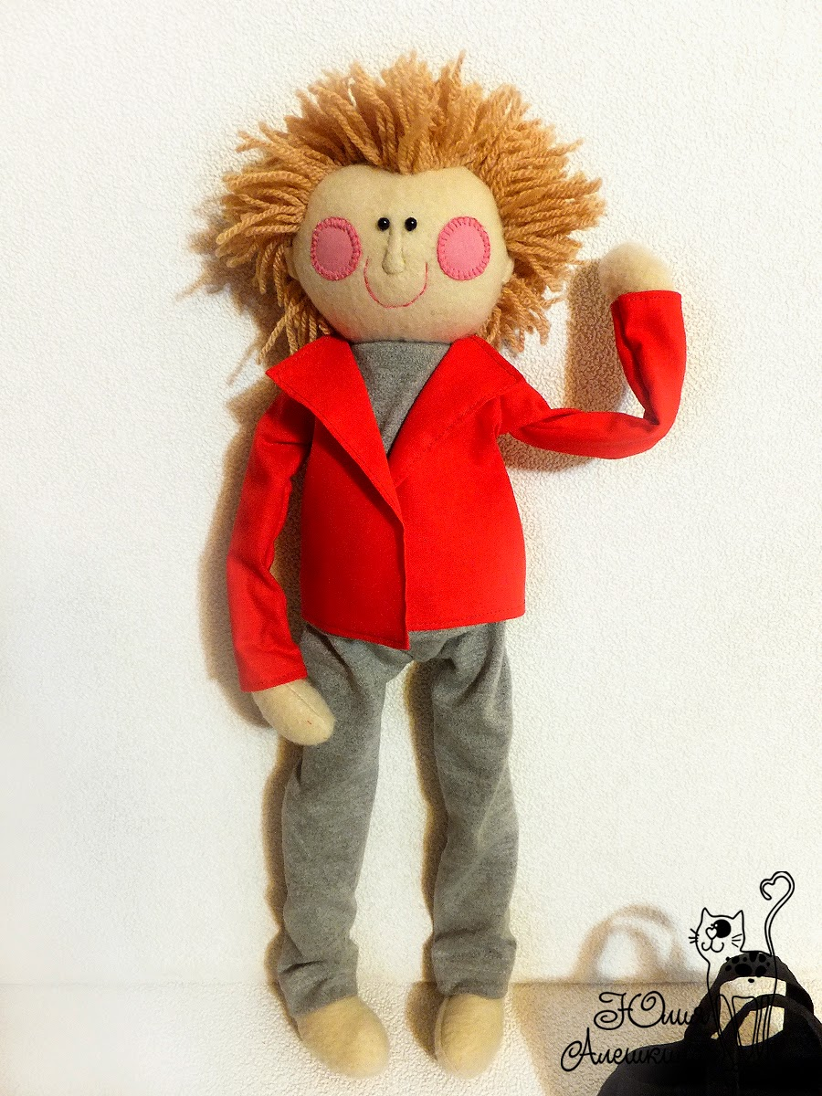 Кукла из ткани на заказ