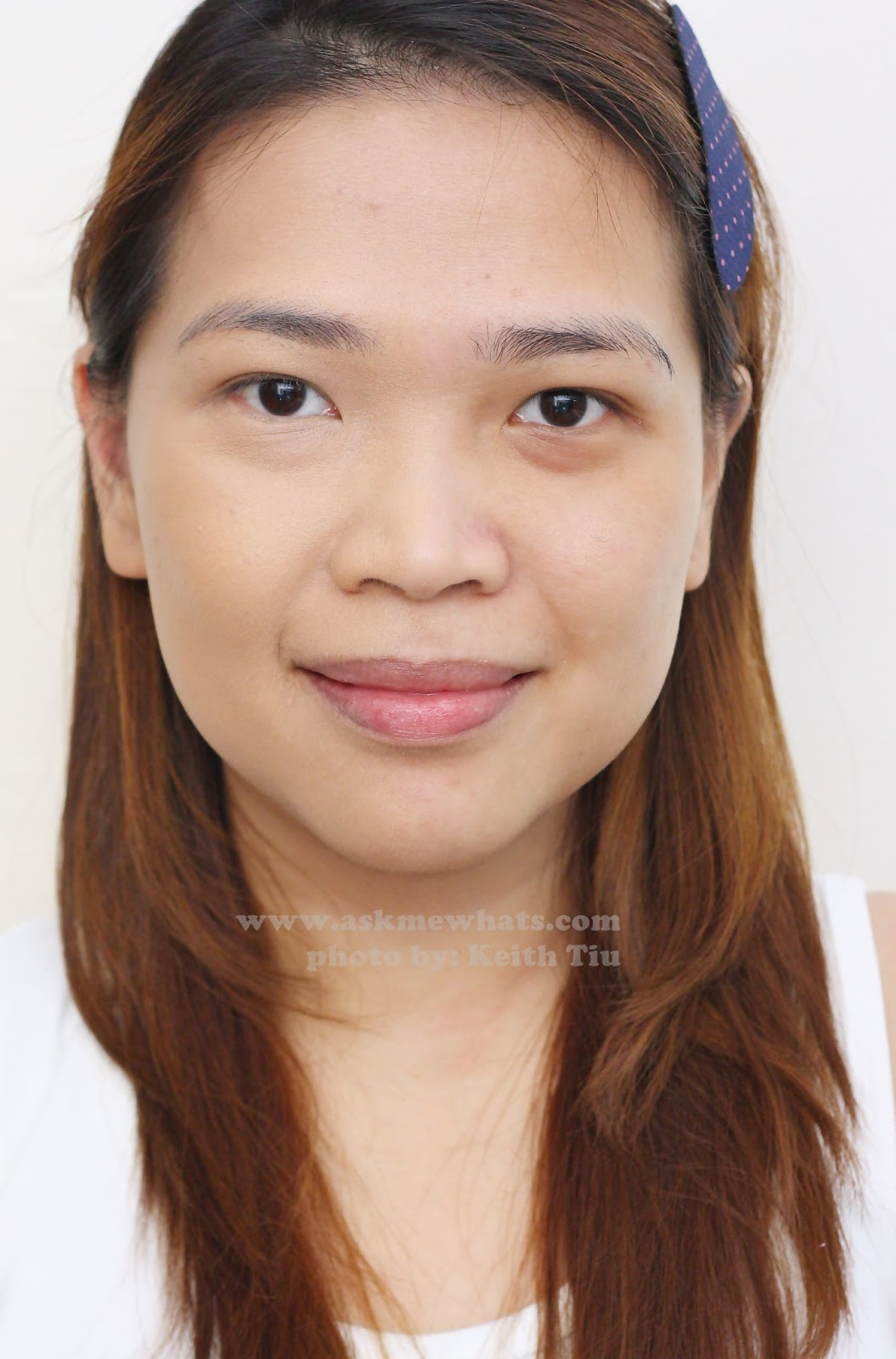 Askmewhats Top Beauty Blogger Philippines Skincare Makeup Review Revlon Photoready Airbrush Effect Nude I Will Share My Half Face Test After Using Prime Anti Shine Primer And Foundation