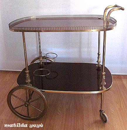 Venta online objetos vintage y retro - Carrito bebidas ...