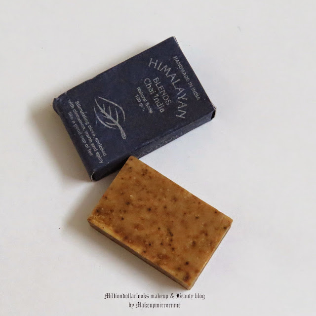 Himalayan Blends Chai India Natural Soap Review, Pictures and Price, Handmade soaps in India, best handmade herbal soap for all skin types, Indian makeup and beauty blog, Chai India soap, Himalayan Blends review, Indian beauty blog, Indian beauty blogger, Bath products review, Best handmade soaps in India, Best affordable handmade soaps