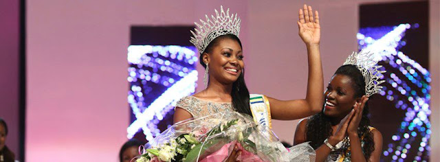Miss Gabon 2013 winner  Ruth Jennifer Ondo Mouchita