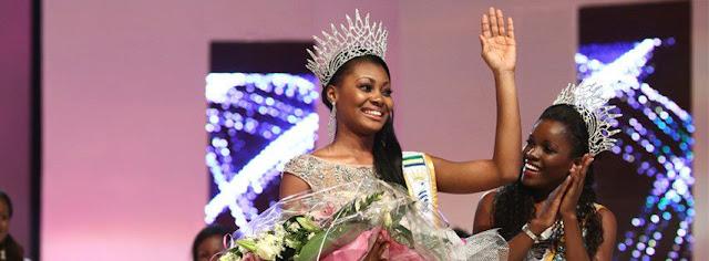 Miss Gabon 2013 winner  Ruth Jennifer Ondo Mouchita