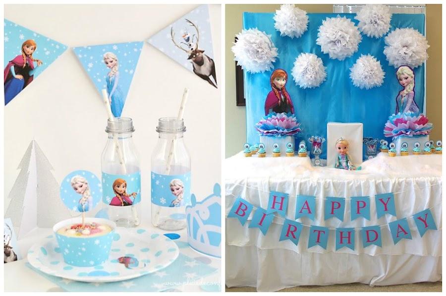 decoración-cumpleaños-frozen