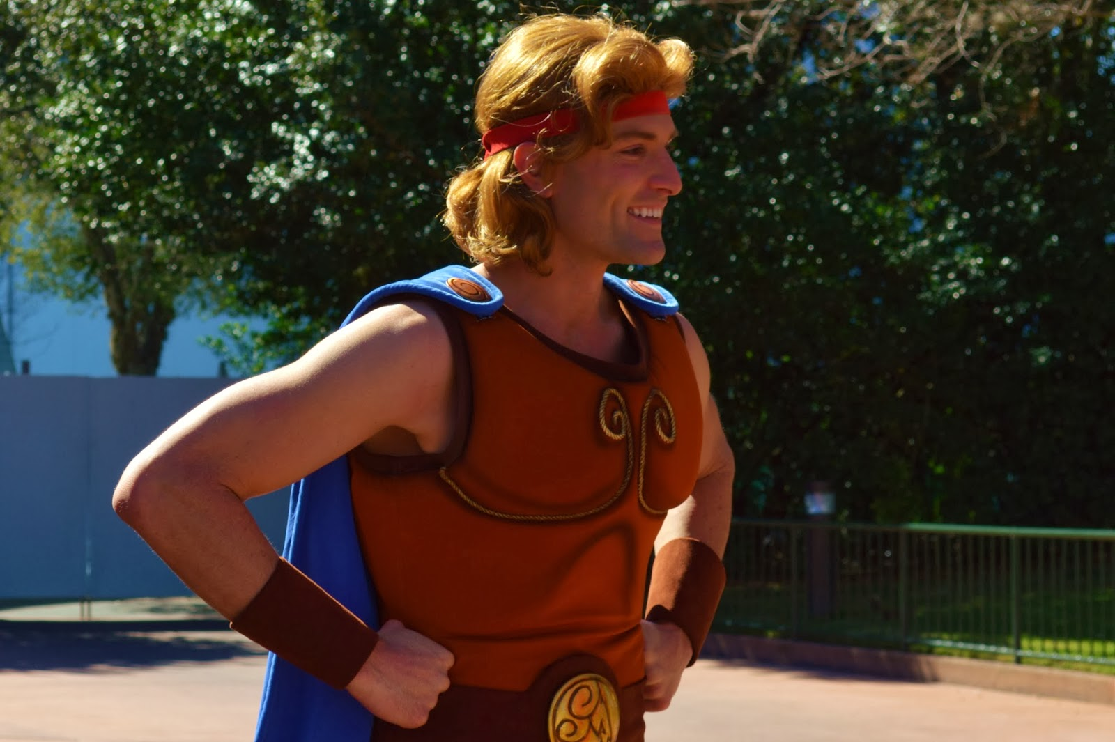 All Around Orlando Rare Character Hercules Meet Greet Testing At
