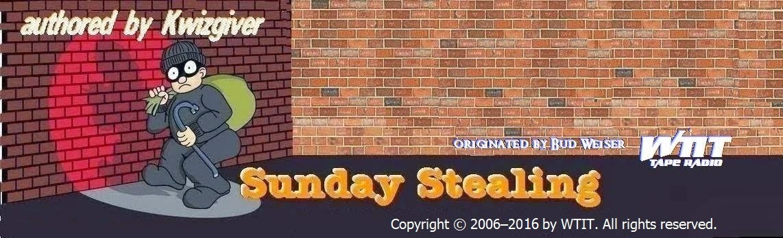 Sunday Stealing!