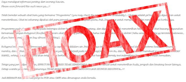 Tips sederhana terhindar dari hoax