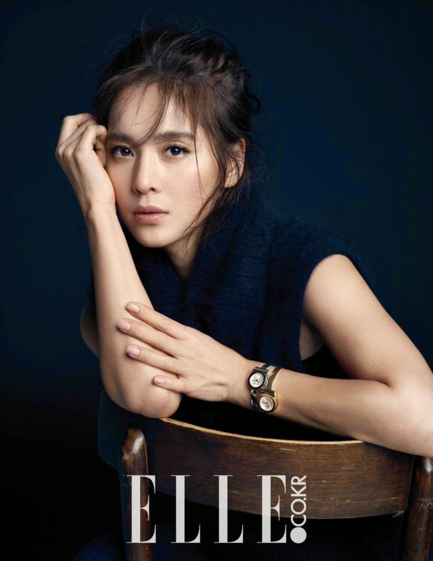 Jung Hye Young - Elle Magazine December Issue 2014