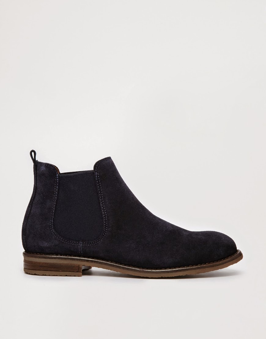 jack wills navy ankle boots
