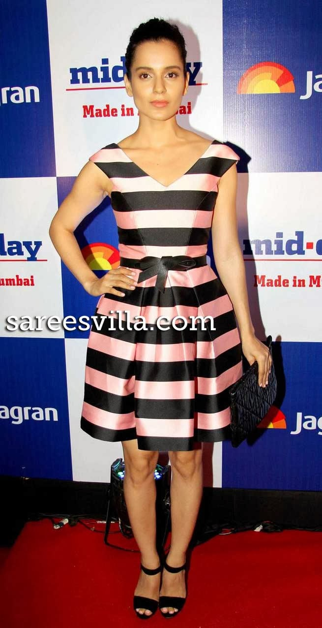 Kangana Ranaut at Mid Day Newspaper's Relaunch Party