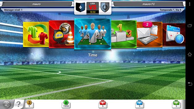 Jogo Top Eleven é o melhor manager de futebol no Android