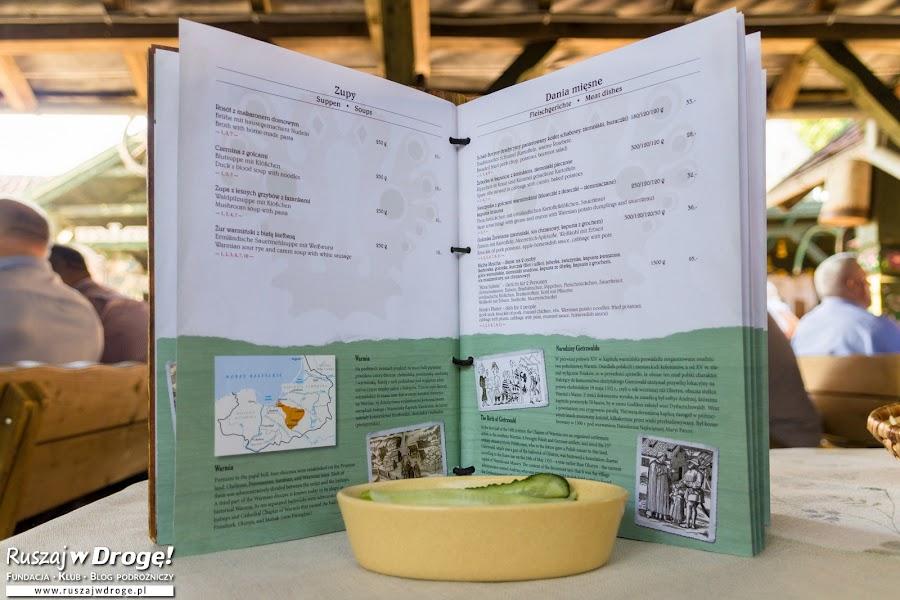 Karczma Warmińska - super menu z historią Warmii