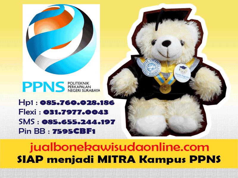 Boneka Wisuda PPNS | Jual Boneka Wisuda Politeknik Perkapalan Negeri Surabaya