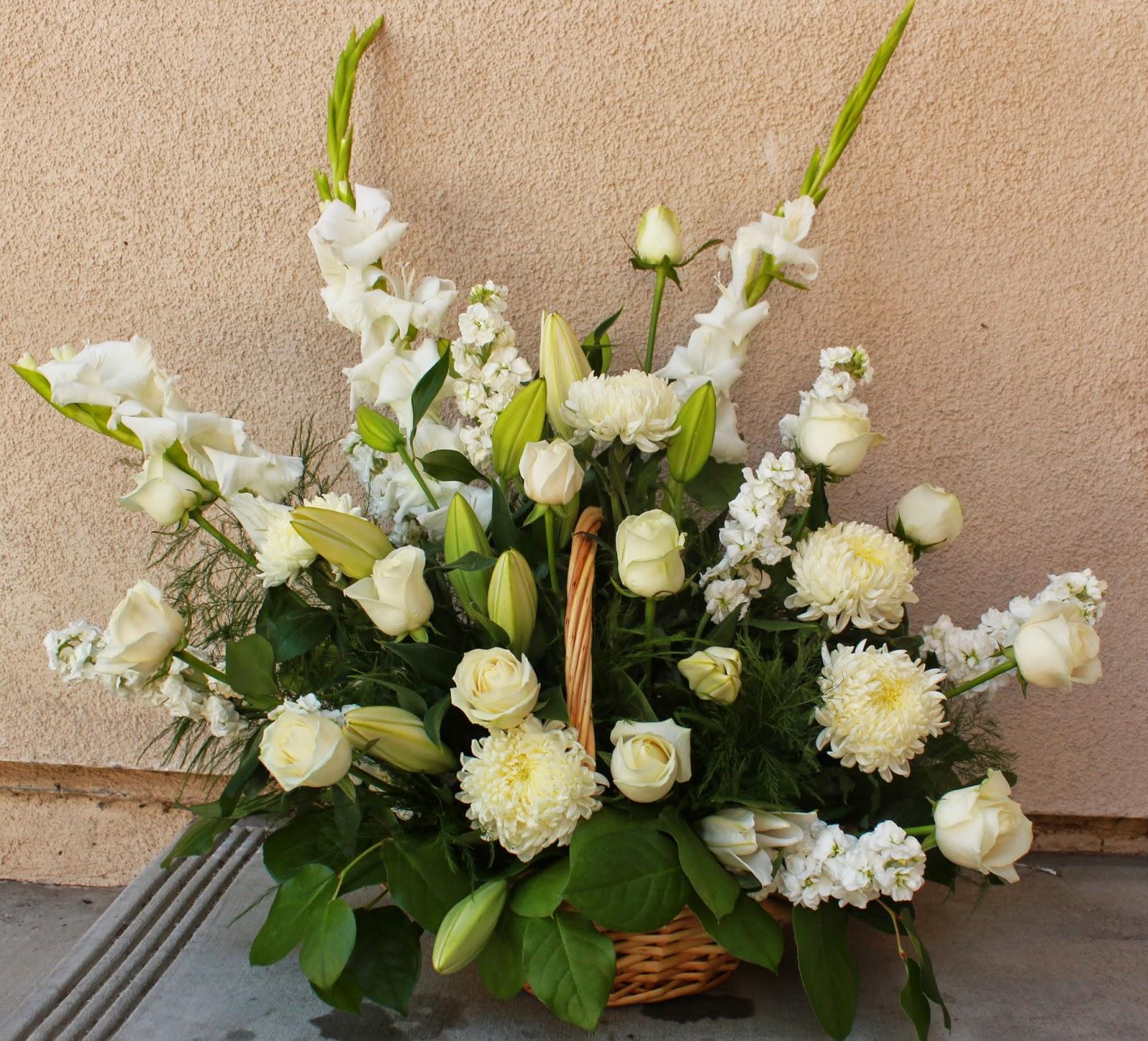 Sweet Peonies Japanese Funeral