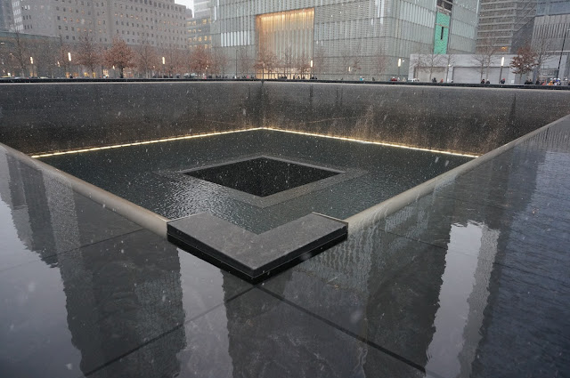 NYC Getaway, 9/11 Memorial- greysuede.com