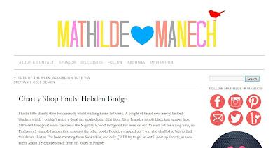 Mathilde heart Manech