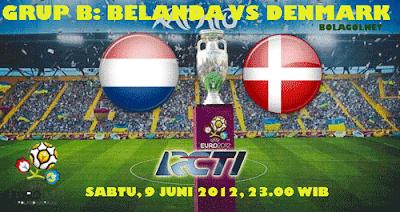 Prediksi Pertandingan Belanda vs Denmark 9 Juni 2012