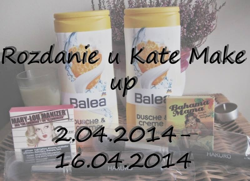Rozdanie u Kate Make Up
