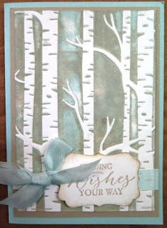 Sahara Sand and Soft Sky embossing  Zena Kennedy independent Stampin Up demonstrator,