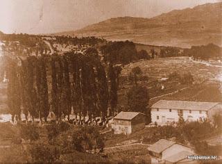 Entrada al pueblo de Candelario años 60