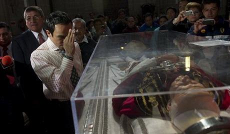 Relikwie Jana Pawla II przywiezione zostaly do Odessy
