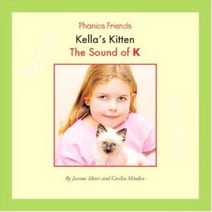 bookcover of Kella's Kitten: The Sound of K by Joanne Meier and Cecilia Minden