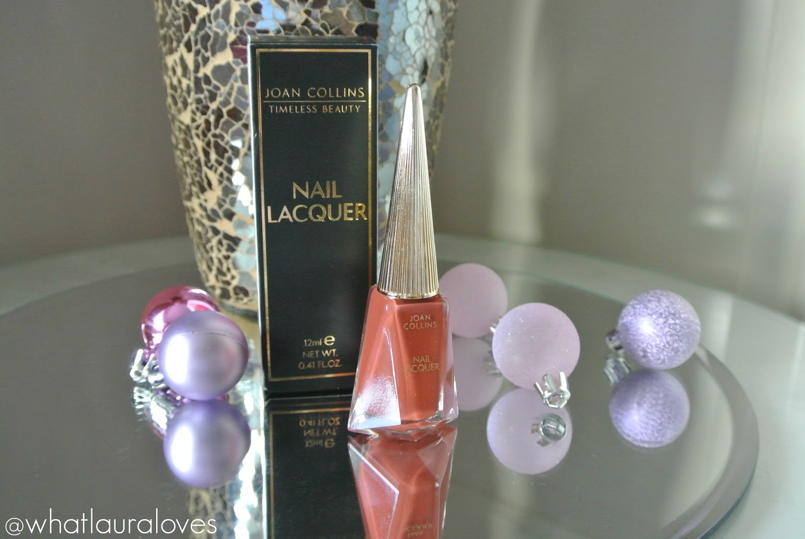 Joan Collins Timeless Beauty Nail Lacquer in Amanda Review