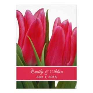 Tarjetas de Boda con Tulipanes, parte 6