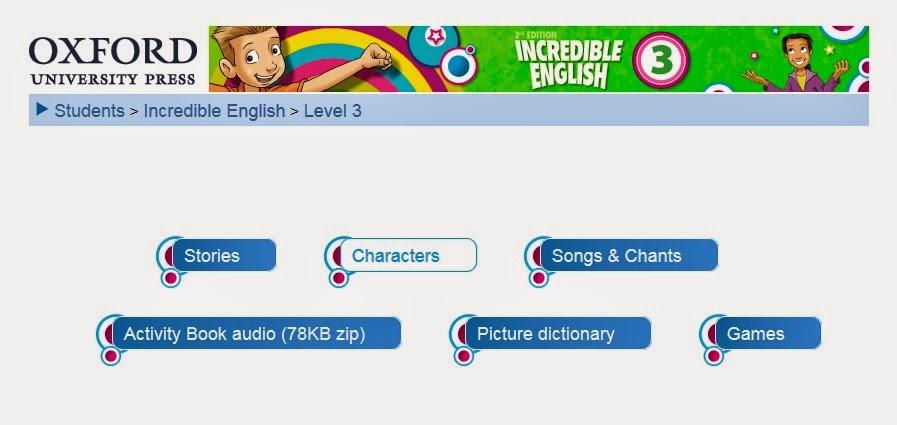 Lengua Inglesa 3º de Primaria